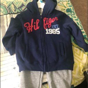 Tommy Hilfiger sweatsuit. 24 months